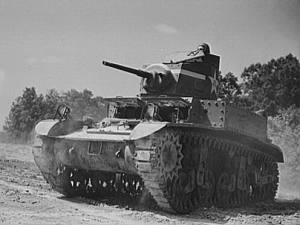 M3 Light Tank at Fort Knox in 1942