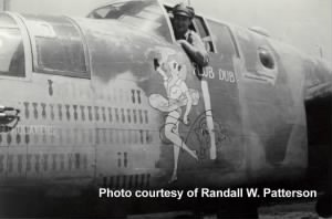 "Capt J Patterson, 414th Night Fighter Group/MTO B-25 Ship ""Flub Dub"" /Patterson Photo"