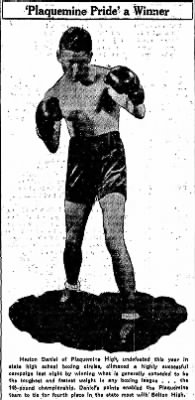 March 1935, Boxing Champion