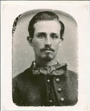 David Van Kleeck in Civil War uniform