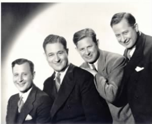 Left to Right Brothers Henry, Bernard, Walter and Arthur Herzbrun
