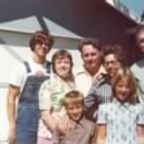 Will, Charlie and parts of their families 1973.jpg