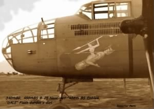 Nose-Art by RM Johnston, DALE, Flash Gordon's Girl