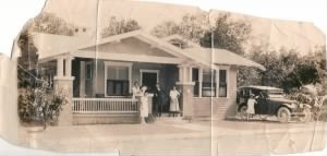 The Nolan Family Home in Miami, Florida about 1928