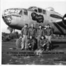 Joe and his Crew with their new B-25 on Corsica, Nov/Dec. 1944