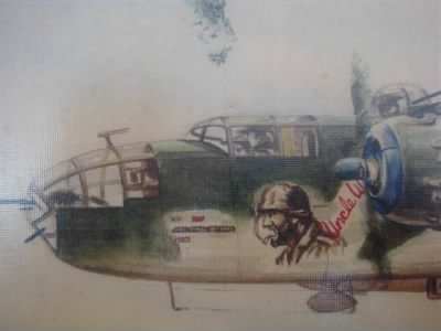 George's B-25 Combat Ship, UNCLE WILLIE, 340th BG, 487th BS, MTO - Fold3.com