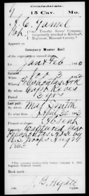Confederate Service Records Pg 4