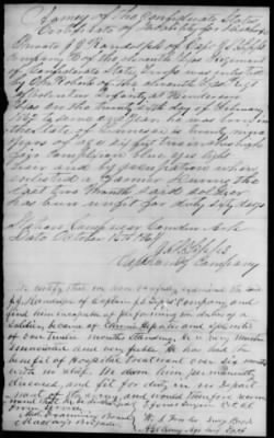 Civil War Service Record Pg.18
