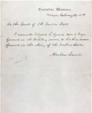 1864 - Nomination of Ulysses S Grant - Page 1