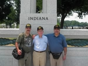 Veteran Family visit to DC Memorial