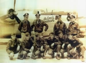 Pilot 2nd Lt. Lt. Russell C. Anderson and Crew