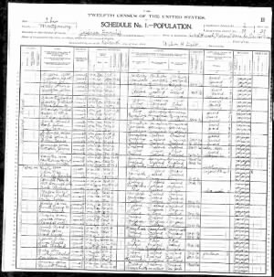 1900 United States Federal Census Ohio H H Hawthorn.jpg