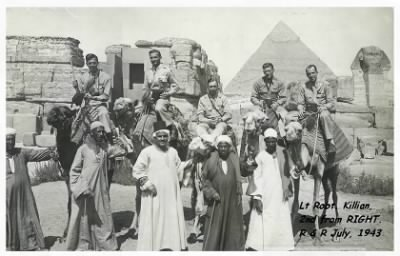 Robert KIllian on R and R in Egypt with his