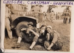 "Doyle D. Waites aka ""Chigger,"" Joseph Crisman, and Herbert Heddinger"