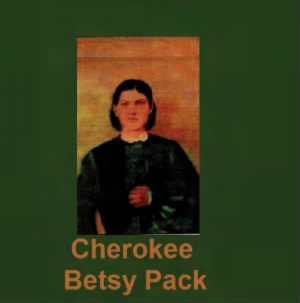 Oil Painting of Betsy Pack