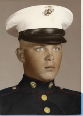 U. S. Marine Corp Graduation Photo
