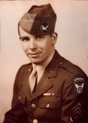 Robert P. Budd in uniform during WWII