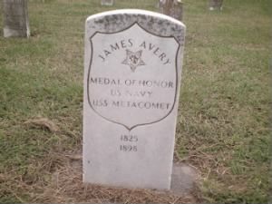 Seaman James Avery Navy Headstone