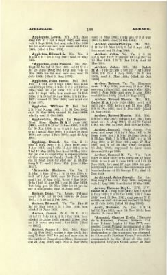 Part II - Complete Alphabetical List of Commissioned Officers of the Army › Page 20 - Fold3.com