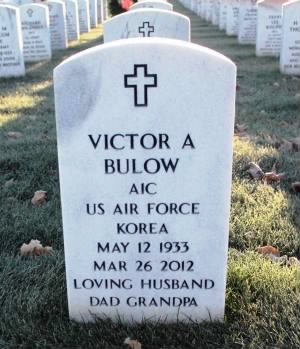 Victor A Bulow Headstone