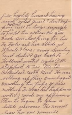 Letter from Dolph Barker to Lois Link dated 9 Jun 1909 - Pg2 - Fold3.com