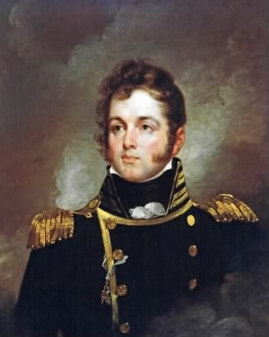 Portrait of Captain Oliver Hazard Perry, USN (1785-1819)