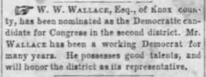 W W Wallace 1857 Democratic Congressional Candidate.JPG
