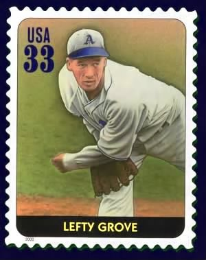 Lefty Grove Stamp