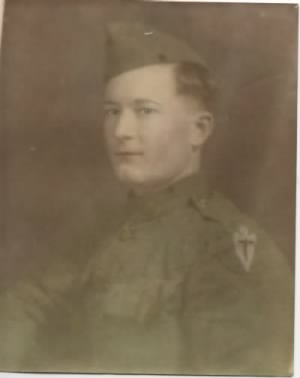 Pvt. Eddie Lee Roebuck , World War I, Infantry
