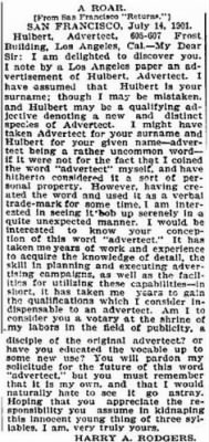 Harry A. Rodgers 1901 Advertect Ltr LA Times.JPG