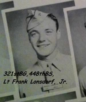 Lt Frank Lonsdorf, Jr. (Cadet Grad-Photo)