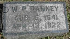 Willard Ranney headstone