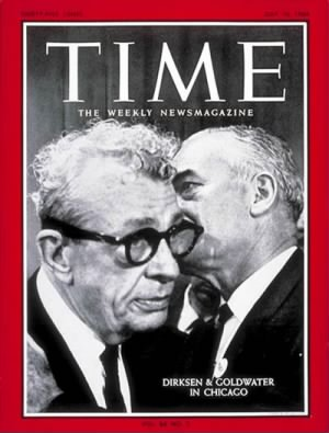 Everett McKinley Dirksen & Barry Goldwater