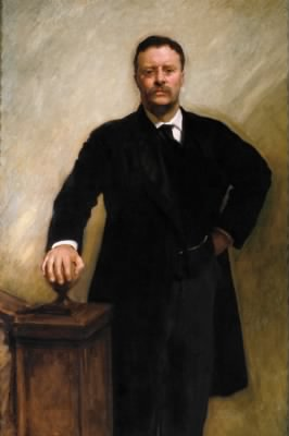 Official Presidential portrait of Theodore Roosevelt