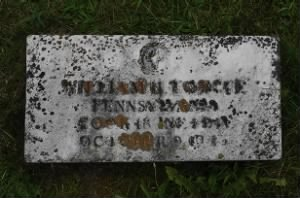 Military Gravemarker- Powers Cemetery - Lawrenceville, Tioga, Pennsylvania