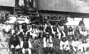 Band of Apache Indian prisoners
