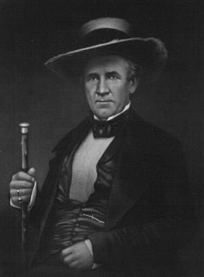 Sam Houston, 1858