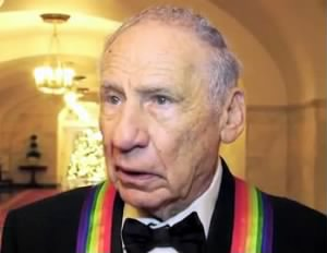 Mel Brooks at the White House for the 2009 Kennedy Center Honors