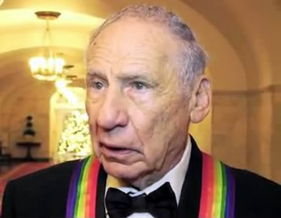 Mel Brooks at the White House for the 2009 Kennedy Center Honors - Fold3.com