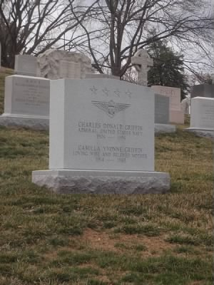 Charles Griffin Headstone in Arlington Cemetery