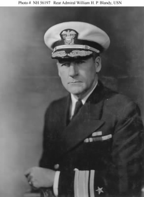 Rear Admiral William H. P. Blandy, USN