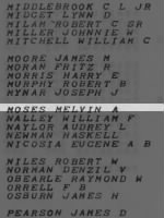Moses, Melvin A