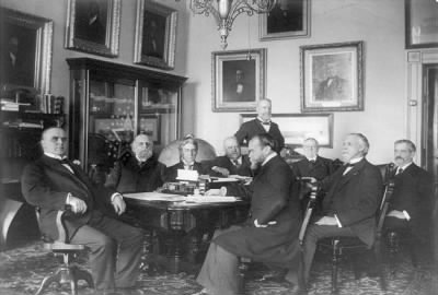 President McKinley and his cabinet - Fold3.com