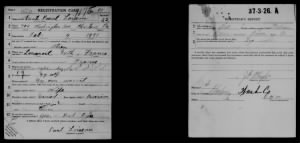 Paul Pascal Loiseau (Bird) United States World War I Draft Registration Cards, 1917-1918.jpg