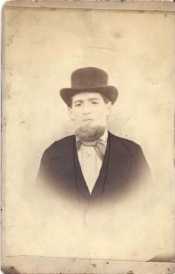 Great Great Grandfather John E Rappold