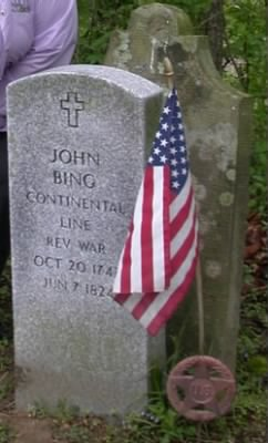 John Bing Rev War Tombstone born 1747.jpg