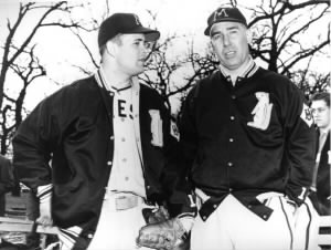GopherBaseball Paul Giel and Dick Siebert.jpg