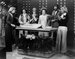 Florence Henderson, Jane Henson, Sandy Duncan, Ethel Merman, Jim Henson with Kermit and Dinah Shore..jpg