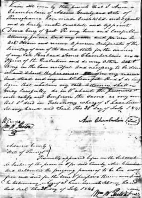 Ann Chamberlain 1841 Appt of Atty for Pension App.jpg