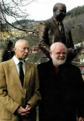 Jack Rockne, the coach's youngest son, and Jerry McKenna.jpg